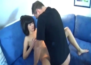 Slender brunette enjoys nasty anal interbreeding