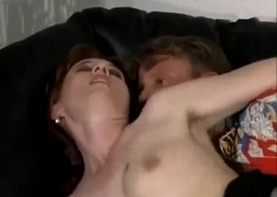 Mature have dirty incest sex with her son