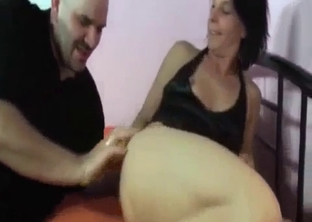 My daughter slowly sucks my venous dick