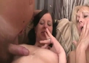 Dad helps his stepdaughter to cum much quicker
