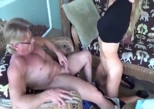 Watch how my stepdaughter is sucking a dick